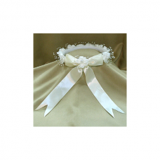 First Communion Ivory Head Band Beatrix
