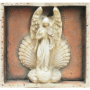 Angel Madonna Plaque