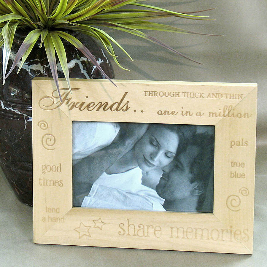 Friends Keepsake Photo Frame
