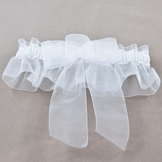 Wedding Garter - Chiffon Satin