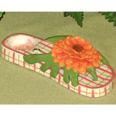 Darling Daisy Candle Holder Slippers