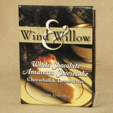 White Chocolate Amaretto Cheesecake cheeseball and dessert mix by Wind and Willow