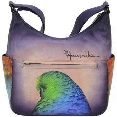 Anuschka Rainforest Royalty Classic Hobo