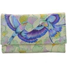 Wings of Hope Check Book Clutch Wallet