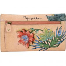 Cockatoo Sunrise Check Book Clutch Wallet