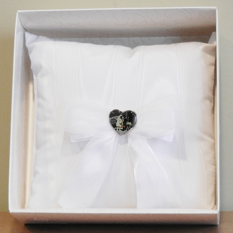 Wedding Ring Pillow by Kim Anderson