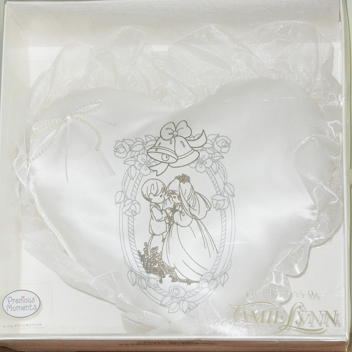 Wedding Ring Pillow Precious Moments