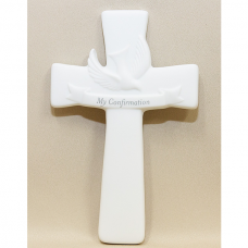 My Confirmation Porcelain Wall Cross