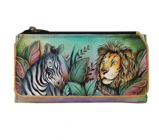 African Adventure Organizer Wallet/Clutch