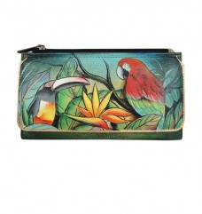 Tropical Bliss Organizer Wallet/Clutch