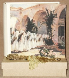 First Communion Girls Photo Album in a window gift box