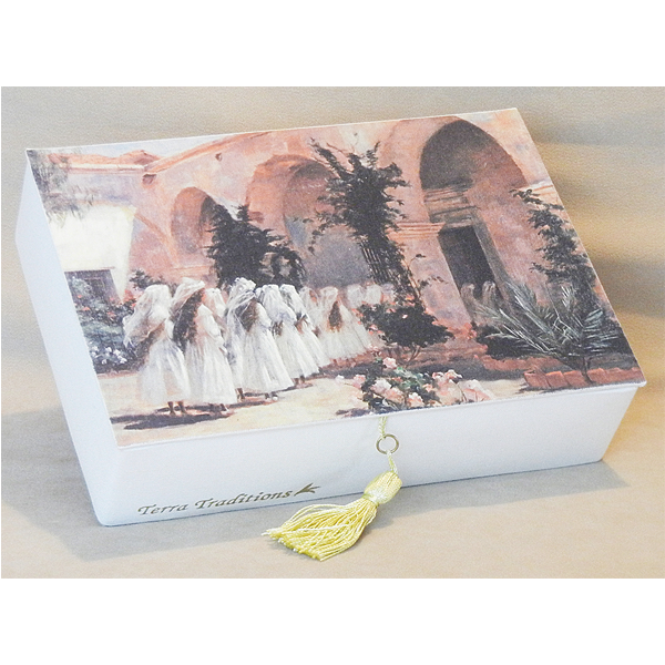 First Communion Girls Terra Traditions Keepsake Box