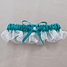 Wedding Garter Jade