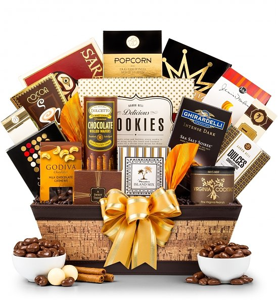 Epicurean Delights Gift Basket