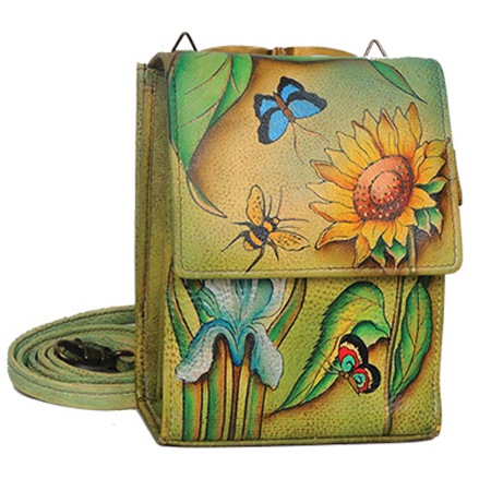 Floral Dreams Mini Sling Organizer (with mirror)