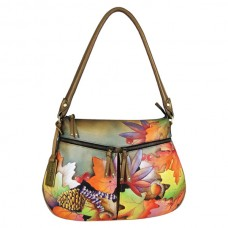 Fall Fiesta Zip-top with expandable pockets
