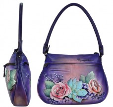 Lush Lilac Zip-Top with Expandable Pockets