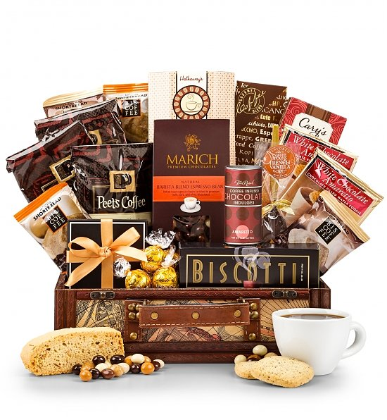 Home > Shop > Gift Ideas > Gift Baskets to USA > Gourmet Coffee Gift ...