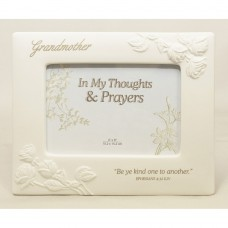 Grandmother Porcelain Photo Frame
