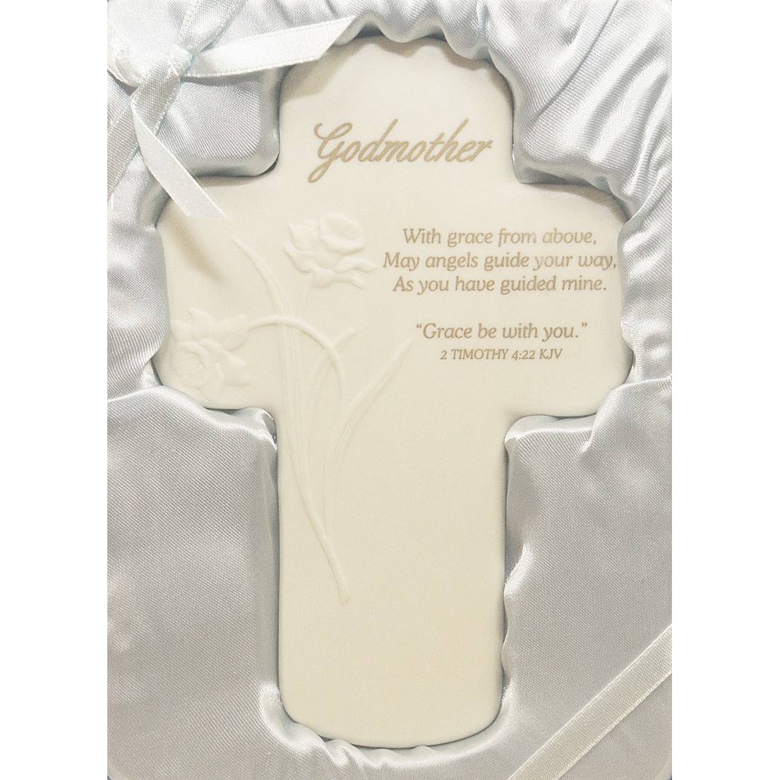 Godmother Porcelain Cross-script