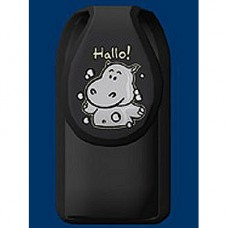 Happy Hippopotamus Glow In The Dark Cell Phone Holder