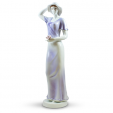 Flora Porcelain Figurine by Hollohaza