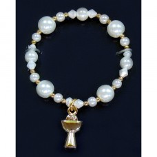 Gold Chalice Bracelet First Holy Communion