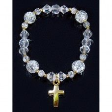 Gold Cross Bracelet First Holy Communion