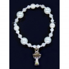 Silver Chalice Bracelet First Holy Communion