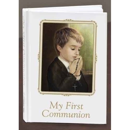 Praying Boy Prayer Book First Communion Missal