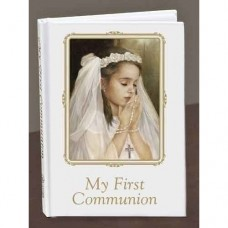 Praying Girl Prayer Book First Communion Missals