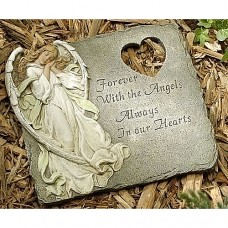 Forever with Angels Sympathy Stepping Stone