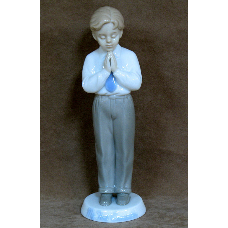 Boy Porcelain Figurine Valencia Collection First Communion