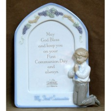 Boy Porcelain Frame Valencia Collection First Communion