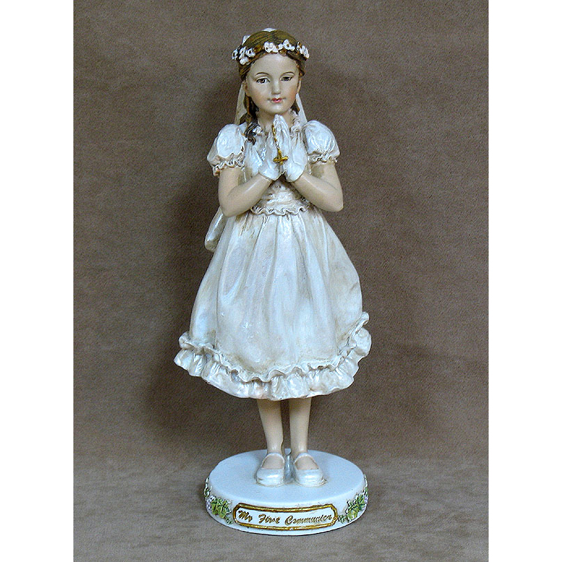Girl Figurine St. Joseph's Studio First Communion