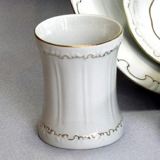 Gold Line Holder Zsolnay Fine Porcelain