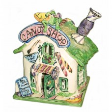Candy Corner Candle House Blue Sky