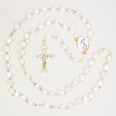 Mother Teresa Gen Gold Rosary