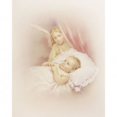 Guardian Angel with Child Religious Picture