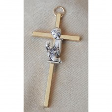 Cross for Boy Silver Cross First Communion