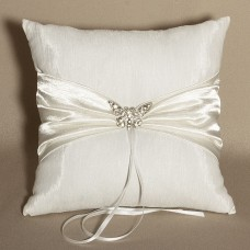 Butterfly Wedding Ring Bearer Pillow