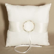 Dazzling Romance Wedding Ring Bearer Pillow