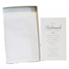 Bridesmaid Hanky Wedding