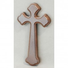 Wood Cross Religious Figurine