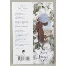 St Francis Rosary Keepsake First Communion