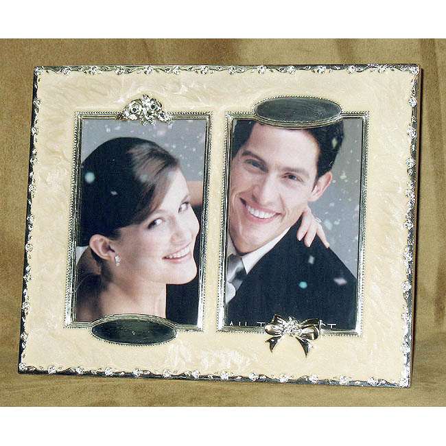 25th Anniversary Mother of Pearl Photo Frame
