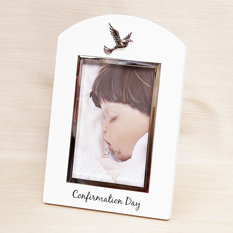Dove Confirmation Day Photo Frame