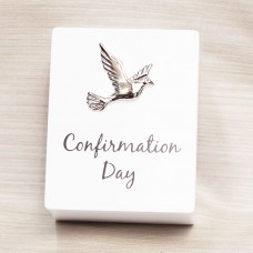 Dove Confirmation Day Keepsake Box