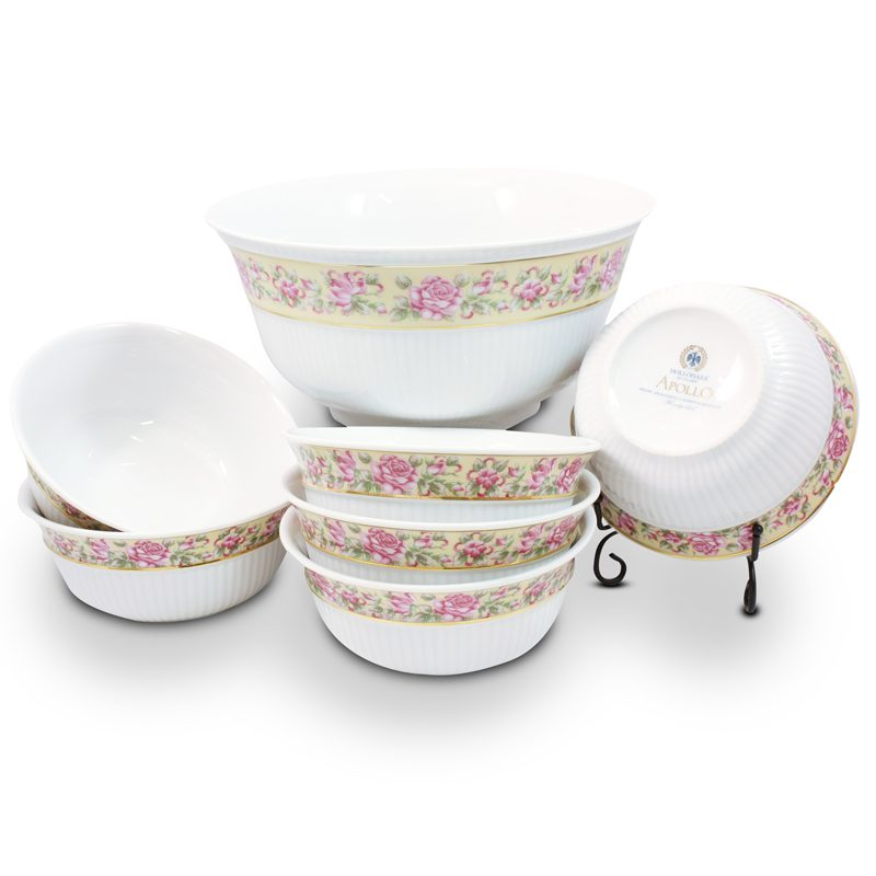 Katalin Porcelain Salad-Compote Set