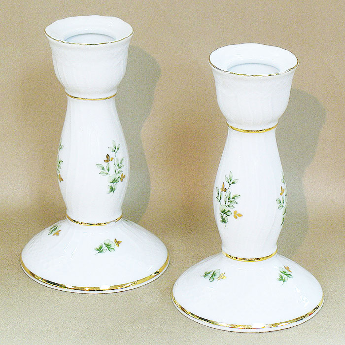 Erika Candle Holder Fine Porcelain Hollohaza